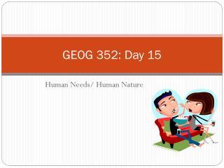 GEOG 352: Day 15