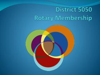 District 5050  Rotary Membership