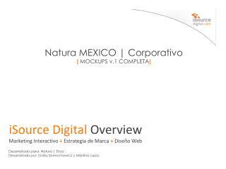 Natura MEXICO | Corporativo [  MOCKUPS v.1 COMPLETA ]