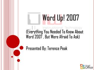 Word Up! 2007