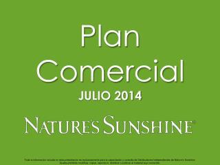 Plan Comercial JULIO 2014