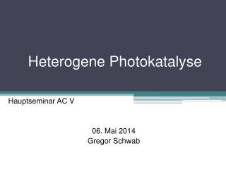 Heterogene Photokatalyse