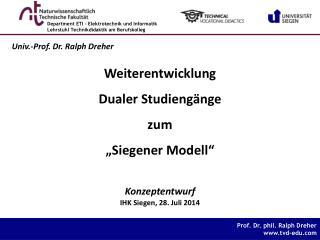 IHK Siegen, 28. Juli 2014