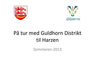 På tur med Guldhorn Distrikt til Harzen