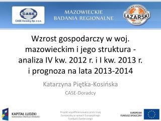 Katarzyna  Piętka-Kosińska CASE-Doradcy