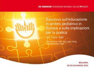 Excursus sull educazione in ambito pediatrico in Europa e sulle implicazioni per la pratica