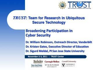 Broadening Participation  in  Cyber Security