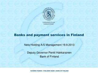 Banks and payment services in Finland