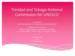 Trinidad and Tobago National Commission for UNESCO