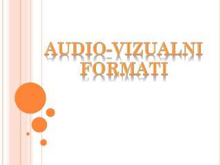 Audio-vizualni formati