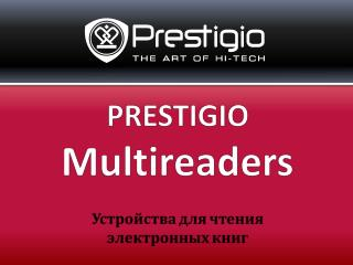 PRESTIGIO Multireaders Устройства для чтения  электронных книг