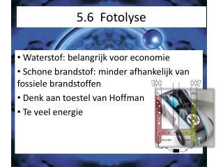 5.6   Fotolyse