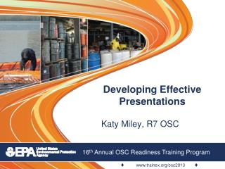 Developing Effective Presentations