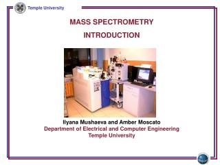 MASS SPECTROMETRY INTRODUCTION