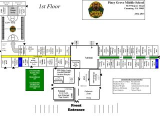 Piney Grove Middle School 8135 Majors  Road Cumming, GA 30041