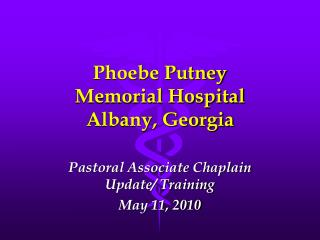 Phoebe Putney Memorial Hospital Albany, Georgia