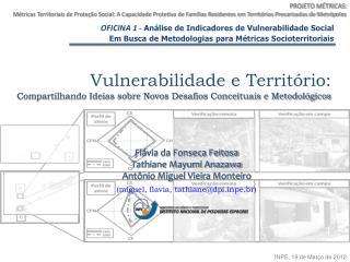 OFICINA 1 -  Análise de Indicadores de Vulnerabilidade Social