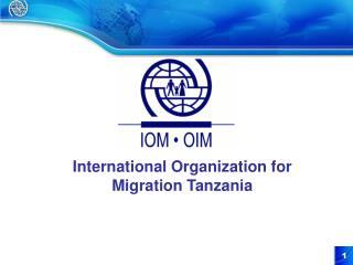 International Organization for Migration  Tanzania