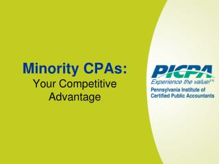 Minority CPAs: Your Competitive Advantage