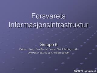 Forsvarets Informasjonsinfrastruktur