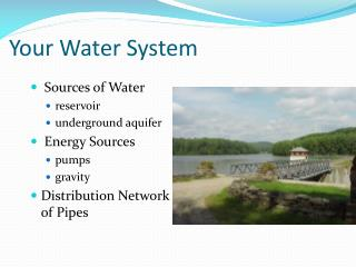 Your  Water System