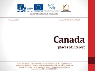 Canada places of interest