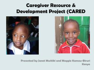 Caregiver Resource & Development Project (CARED