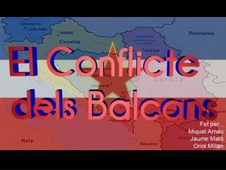 La  desintegració  de  Yugoslàvia