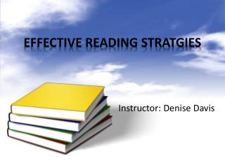 EFFECTIVE READING STRATGIES