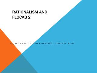 Rationalism and Flocab 2