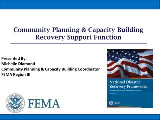 Community Planning & Capacity Building Recovery Support Function