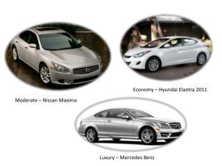 Economy –  Hyundai  E lantra 2011