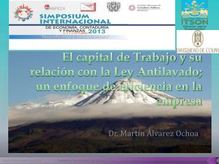 Dr. Mart�n �lvarez Ochoa