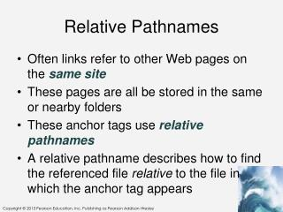 Relative Pathnames