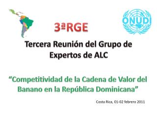 Tercera Reunión del Grupo de Expertos de ALC