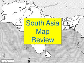 South Asia Map Review