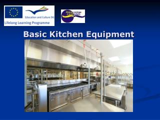 Basic Kitchen Equipment