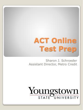ACT Online  Test Prep