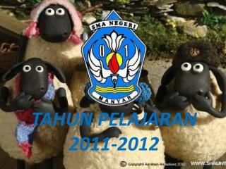 TAHUN PELAJARAN 2011-2012