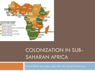 Colonization in sub-Saharan Africa