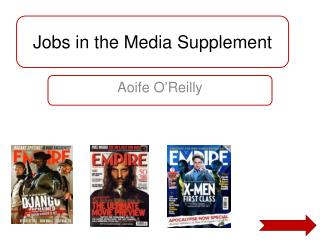 Jobs in the Media Supplement