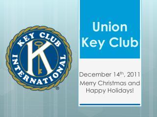 Union Key Club