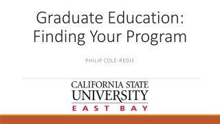 Graduate Diversity Coordinators
