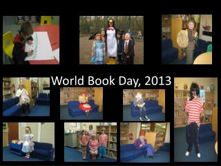 World Book Day, 2013