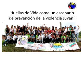 Huellas de Vida como un escenario de prevención de la violencia Juvenil
