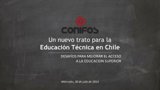 Un nuevo trato para la  Educación Técnica en Chile