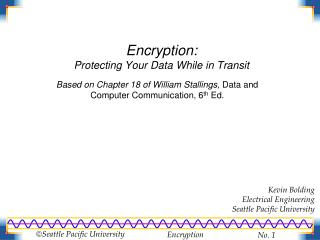 Encryption: Protecting Your Data While in Transit