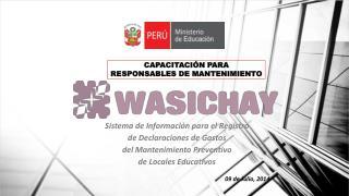 Sistema de Información para el Registro  de Declaraciones de Gastos  del Mantenimiento Preventivo