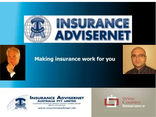 Making insurance work for you