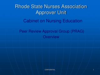 Rhode State Nurses Association      Approver Unit